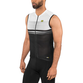 Alé Cycling Graphics PRR Slide Sleeveless Jersey Herren black-white